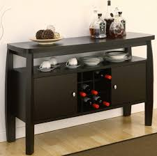 wonderful long black sideboard