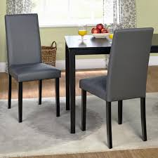 Modern Leather Dining Room Chairs Dining Rooms Appealing Upholstered Parson Dining Chairs Design