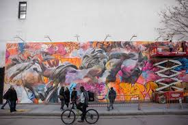 Mural Wall Art by Bowery Wall U0027s Newest Mural By Pichiavo Mixes Colors And Classicism