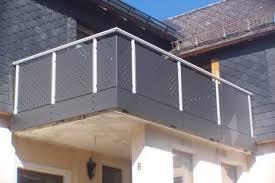balkon lochblech peax balkone alu lochblech kombination