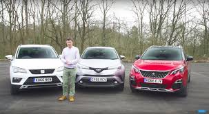 peugeot spain seat ateca challenged by peugeot 3008 and toyota c hr in new review