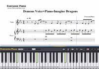 tutorial piano canon croatian canon everyone piano midi keyboard show everyone piano