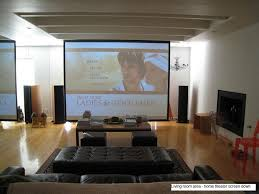 Home Theater Ideas For Simple Application HomeStyleDiarycom - Living room with home theater design