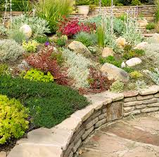 Alpine Rock Garden by Rock Garden Private Residence Leaf U0026 Mortar