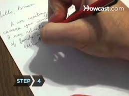 how to write a letter youtube