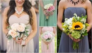 bridesmaid bouquets budget friendly beautiful bridesmaids bouquets wedding flowers