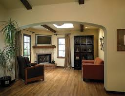 Hardwood Floor Decorating Ideas Corner Fireplace Decorating Ideas Living Room Mediterranean With