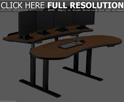 table comely contemporary ergonomic computer desk setup of