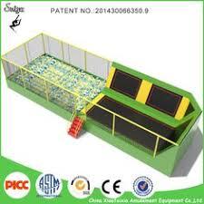 createfun 8x12ft professional gymnastic trampoline publik