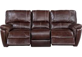 Black Reclining Sofa Leather Sofa Reclining Sectional Brown Leather Sofa And Recliner