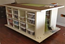 furniture wonderful craft room design ideas using white craft