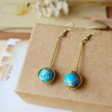 earrings world fon xee asymmetrical world globe earrings for women earrings