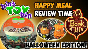 book of life halloween pails 2014 happy meal review time shout