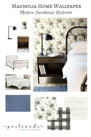 add some wow to your walls with joanna gaines u0027 new wallpaper