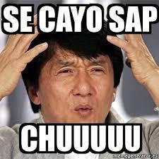 Sap Memes - meme jackie chan se cayo sap chuuuuu 18286363