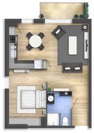 mini home floor plans floor plan rendering by talens3d tiny house pinterest house