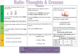 ratio miss brookes maths
