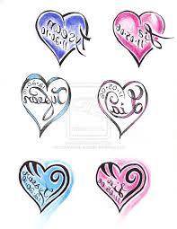 name heart tattoos designs best tattoo design