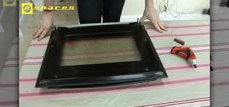 clean oven glass door how to remove and repair a neff oven door home appliances