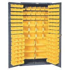 72 Storage Cabinet 36 X 72 Commercial Storage Cabinet With Locking Doors 132 Bins