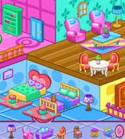 Doll House Decoration Game AgnesGames