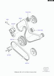 ford pulleys and drive belts