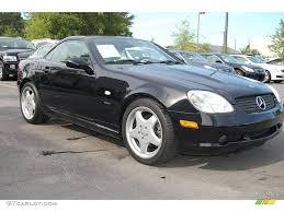 1999 black mercedes 1999 black mercedes slk 230 kompressor roadster 17504689