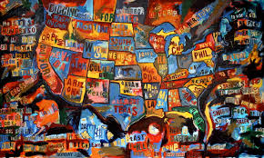 Jasper Johns Map Merican Map Of The United States Now That U0027s Merican