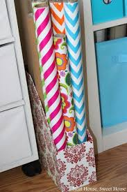 where to find wrapping paper best 25 wrapping paper storage ideas on gift wrap