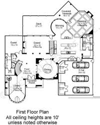 Reverse Story And A Half Floor Plans Kedleston French Country House Plans Luxury Floor Plans