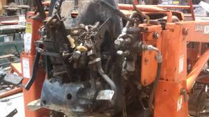 Kubota L2900 Tractor Split For Clutch Service Grand L Series Youtube