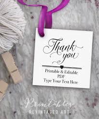 printable thank you tags editable favor tag template thank you
