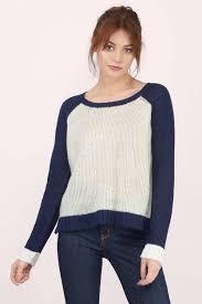 navy sweaters tobi