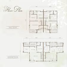 otago cottages double storey semi d by rockville development