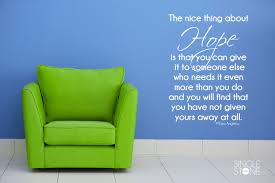 hope maya angelou quote wall decals wall decals wall