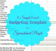 Microsoft Excel Monthly Budget Template Free Sle Monthly Expenses Spreadsheet Excel Budget Template