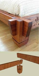 Easy Woodworking For Beginners by Best 25 Woodworking Bed Ideas On Pinterest Wood Joining