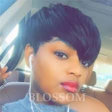 how much is average price for hair cut and color cheap short pixie cut human hair wigs with bangs for african