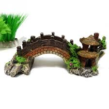 Fake Rocks For Landscaping by Aliexpress Com Buy 1pcs Aquarium Decoration Bridge Rockery Fake
