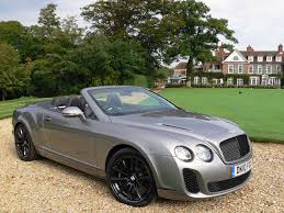 weekends bentley continental supersports convertible exhausted ca