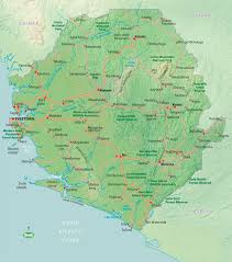 Map Of Sierra Leone Sierra Leone Travel Information And Guide Bradt Travel Guides