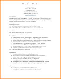 Free Template Resume Microsoft Word 8 Resume Microsoft Word Appeal Leter