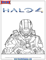 halo 4 master chief coloring page h u0026 m coloring pages
