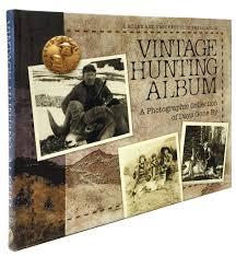 vintage photo album vintage album boone and crockett club