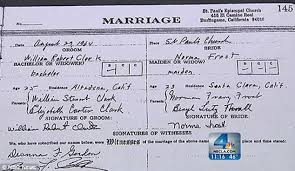 place to register for wedding marriage license problems california learns marriage wasn