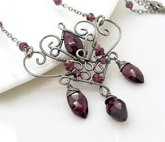 red gothic necklace images 2249 best wire wrap necklaces pendants sets images jpg