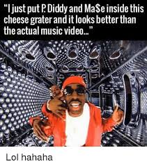 Cheese Grater Meme - ljust put p diddy and mase inside this cheese grater and it looks