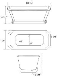 Bathtub Sizes Standard Standard Bathtub Length Images Reverse Search