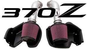 nissan 350z induction kit nissan 370z k u0026n typhoon air intake install u0026 sound compare with
