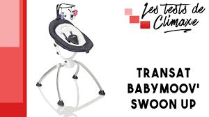 siege babymoov test d un transat pour bébé babymoov swoon up avec rotation du